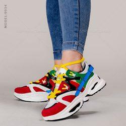کفش زنانه Brook مدل V9934 – کتانی دخترانه رنگی