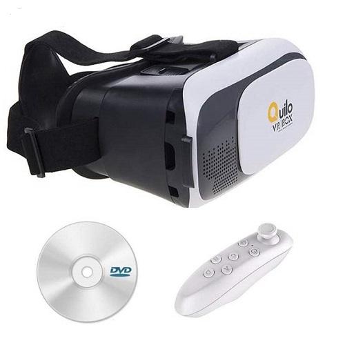هدست واقعیت مجازی کوییلو مدل Box-2 به همراه ریموت کنترل و DVD نرم افزار