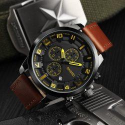 ساعت مچی عقربه ای مردانه اسکمی SKMEI مدل ۱۳۰۹