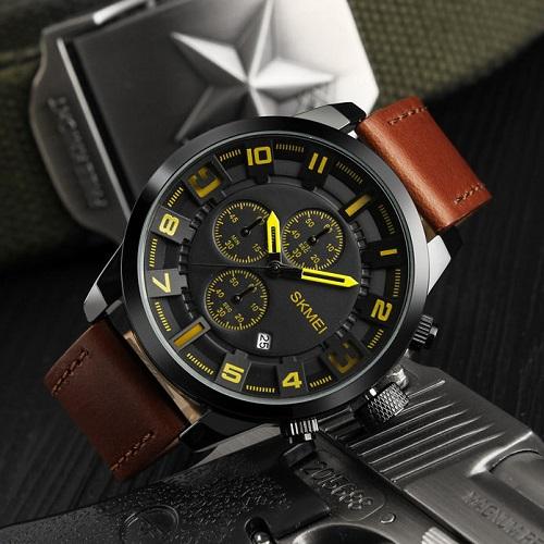 ساعت مچی عقربه ای مردانه اسکمی SKMEI مدل 1309