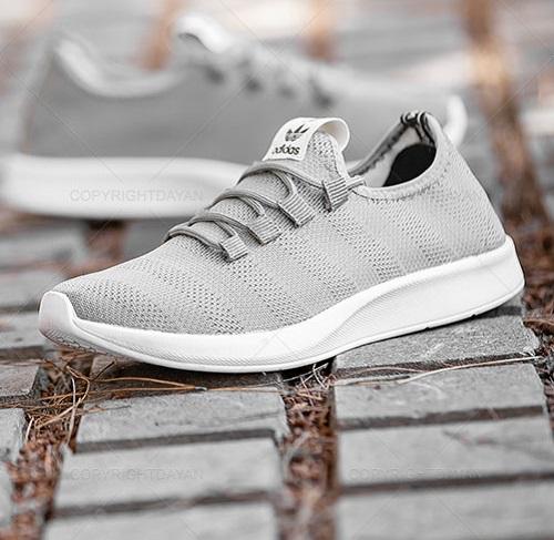 کفش مردانه آدیداس Adidas مدل 10515 رنگ طوسی