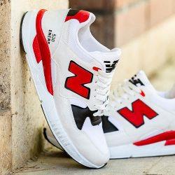 کفش مردانه نیو بالانس New Balance مدل ۱۰۶۲۲ سفید قرمز