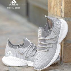 کفش مردانه آدیداس Adidas مدل ۱۰۸۳۹ رنگ سفید خاکستری