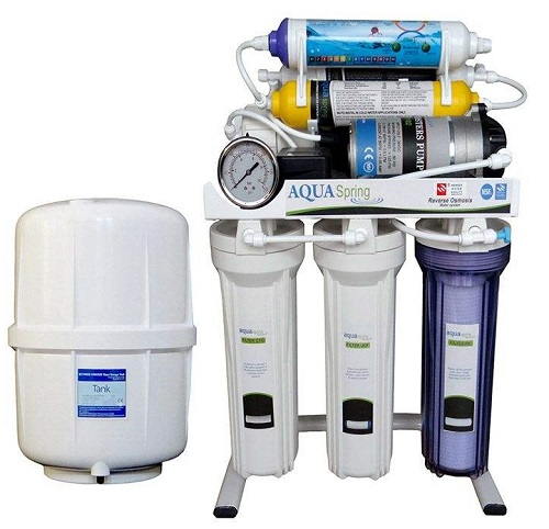 دستگاه تصفیه آب خانگی آکوآاسپرینگ مدل RO-S151 آب شیرین کن