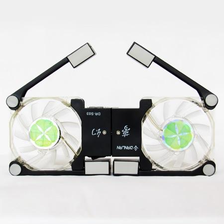 کول پد تاشو لپ تاپ مدل DR-S03 - فن خنک کننده لپتاپ