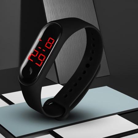 ساعت مچی ال ای دی طرح شیائومی LED Watch Xiaomi
