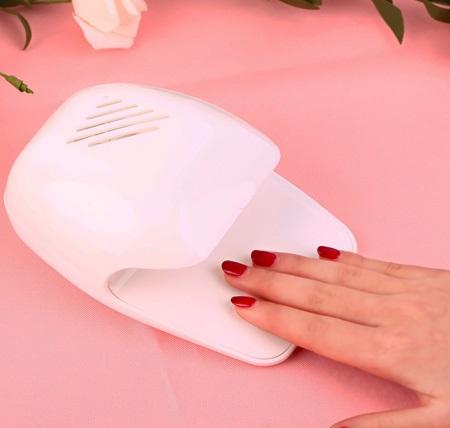 دستگاه لاک خشک کن Nail Dryer - خشک کردن لاک و طراحی ناخن