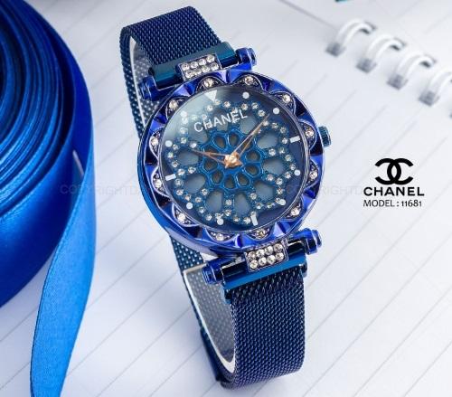 ساعت مچی زنانه شنل Chanel مدل 11681 - ساعت نگین دار