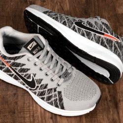 کفش مردانه نایکی Nike مشکی و طوسی