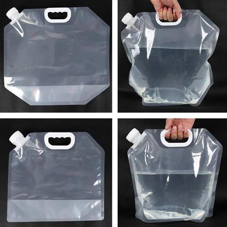 نگه دارنده آب تاشو 6 لیتری - مخزن قابل حمل انعطاف پذیر آب