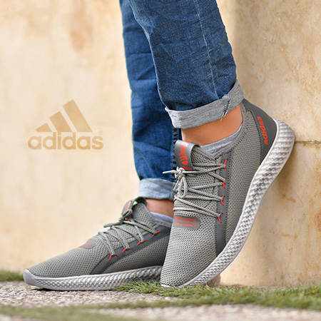 کفش مردانه Adidas طرح Cloud - کفش آدیداس طرح کلود با رویه بافت