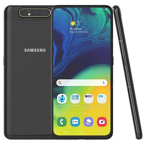 گوشی موبایل سامسونگ مدل Galaxy A80 - قاب و گلس گلکسی A80