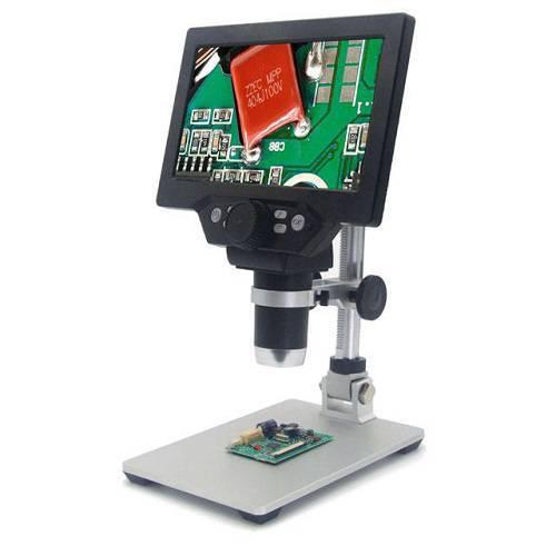 میکروسکوپ دیجیتال مدل G1200 - میکروسکوپ و لوپ دارای lcd