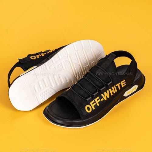 صندل Off-White مدل 13706- کفش تابستانی مردانه