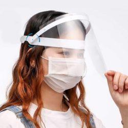 شیلد محافظ صورت پکیج 2 عددی - طلق شفاف ضدبخار