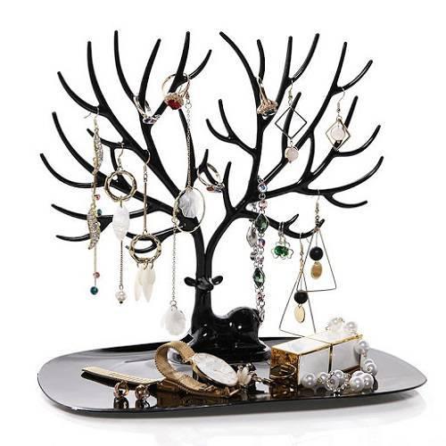 استند جواهرات مدل شاخ گوزن - جا جواهراتی طرح گوزن