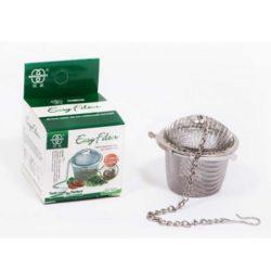 صافی و توری چای زنجیردار - صافی استیل ایزی فیلتر Easy Filter