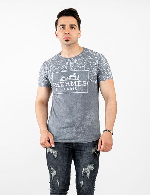 تیشرت مردانه هرمس Hermes - تی شرت آستین کوتاه یقه گرد