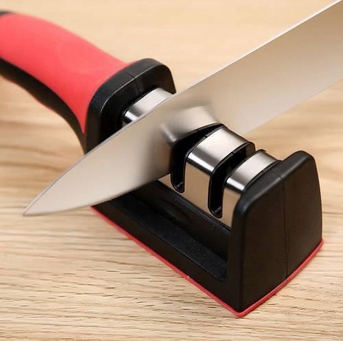 چاقو تیز کن دستی مدل شارپنتر - چاقوتیزکن خانگی استیل