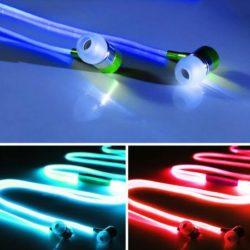 هندزفری LED جادویی - هندزفری نورانی چراغ دار