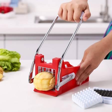 خلال کن سیب زمینی و سبزیجات - خلالکن خانگی با تیغه فلزی
