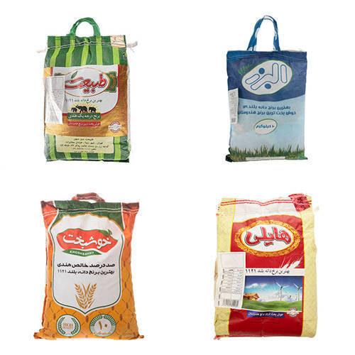 فروش انواع برنج هندی - برنج دانه بلند خوشبخت , طبیعت , البرز و هایلی