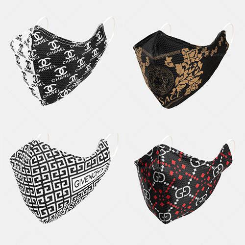 پک دو عددی ماسک پارچه ای - ماسک اسپورت و طرح دار