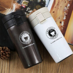 ماگ سفری مدل Enjoy The Coffee - لیوان گرم نگه دارنده فیلتردار