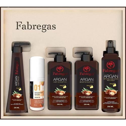 مجموعه ترمیم کننده موی فابریگاس - پک fabregas مدل آرگان