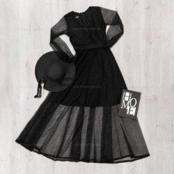 پیراهن زنانه Nika مدل 16889 - لباس مجلسی زنانه گیپور