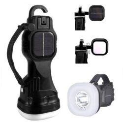 چراغ قوه چندکاره خورشیدی اورجینال - چراغ دستی شارژی کمپینگ