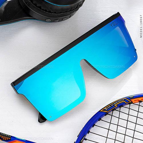 عینک آفتابی YSL مدل 18067 - عینک فشن با رنگ آبی