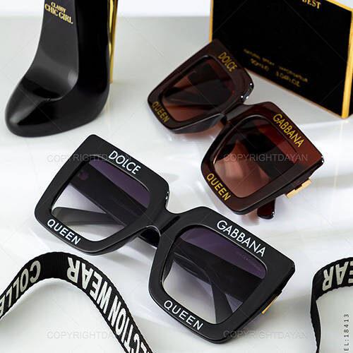 عینک آفتابی زنانه D&G - عینک فشن Dolce & Gabbana