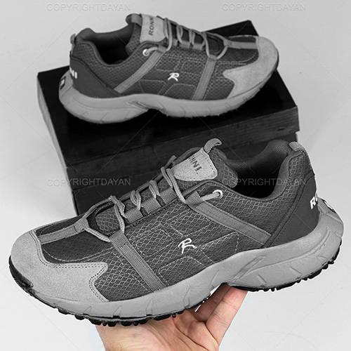 کفش مردانه Kiyan - کتانی ورزشی مردانه طوسی کیان