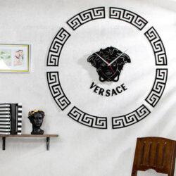 ساعت دیواری Versace - ساعت چوبی دکوراتیو ورساچه