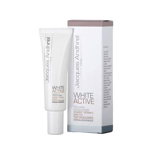 کرم ضدلک و روشن کننده - ژاک آندرل پاریس مدل WHITE ACTIVE